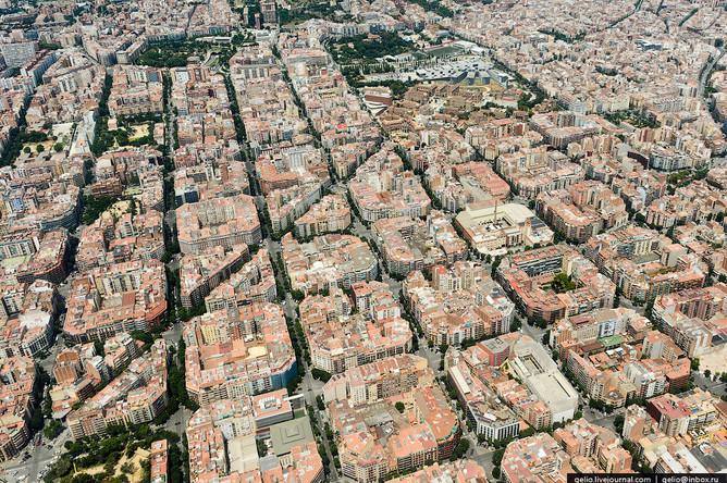 Barselona S Vysoty Ptichego Poleta Gazeta Ru