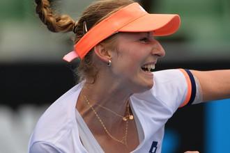 Екатерина Макарова первой из россиянок преодолела третий круг Australian Open — 2014