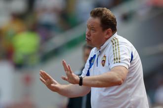 Леонид Слуцкий планомерно готовит ЦСКА к новому сезону