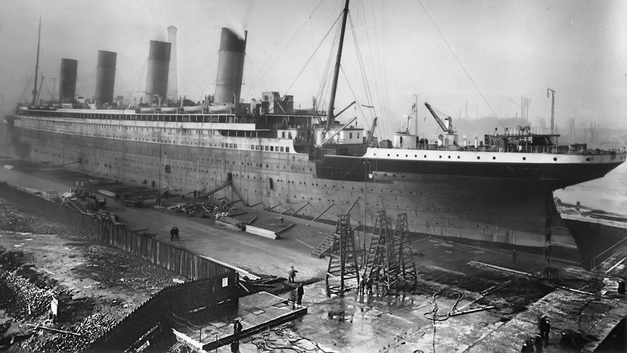 """Фото: 107 жилийн өмнө живсэн """"Титаник"""" хөлөг онгоц"""