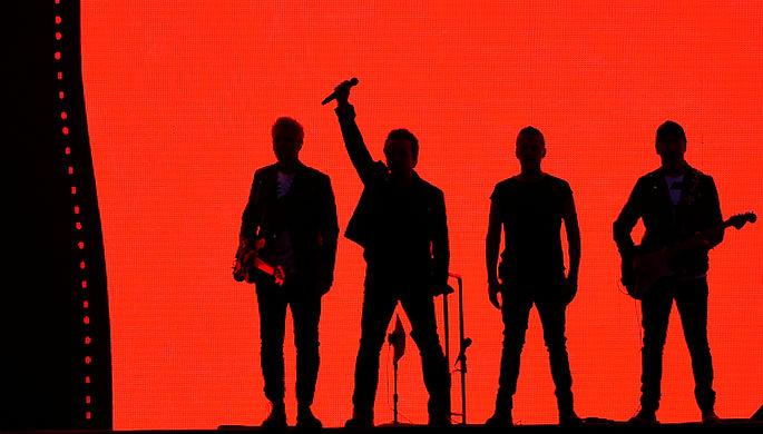 Выступление Боно и U2 в Дублине, Ирландия, июль 2017 года