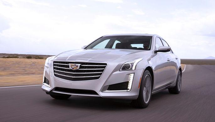 В России представили обновленный Cadillac CTS