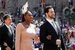 Теннисистка Серена Уильямс и Алексис Оганян насвадьбе принца Гарри и Меган Маркл вВиндзоре, 19 мая 2018 года