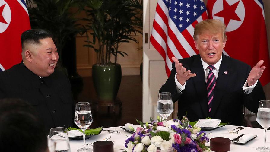 Трамп выразил надежду на успешное сотрудничество с Ким Чен Ыном