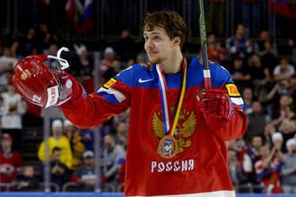 Игрок сборной России Артемий Панарин