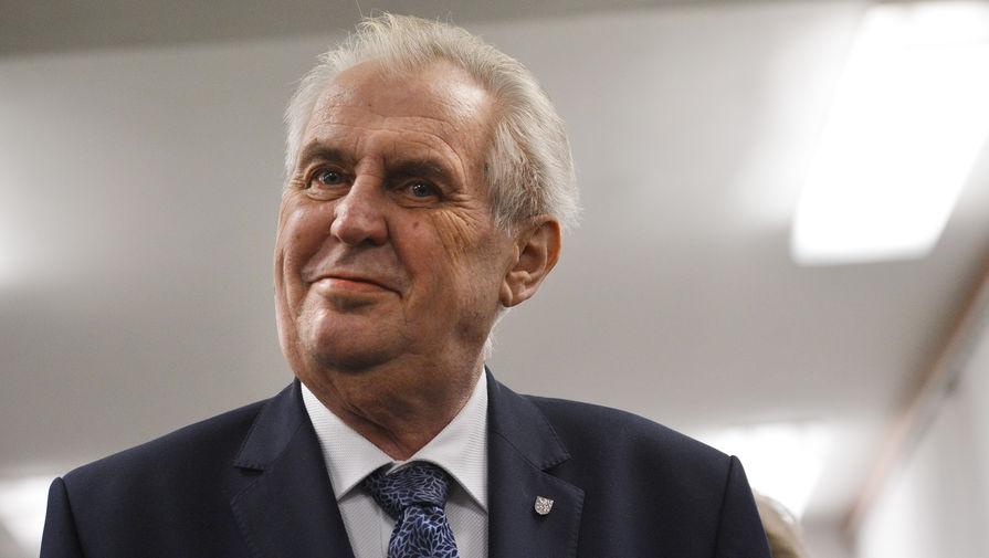 Президент Чехии назвал две рассматриваемые версии причин взрыва во Врбетице