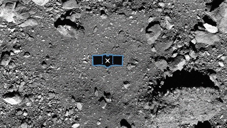 Американский зонд потерял часть забранного с поверхности астероида Бенну грунта