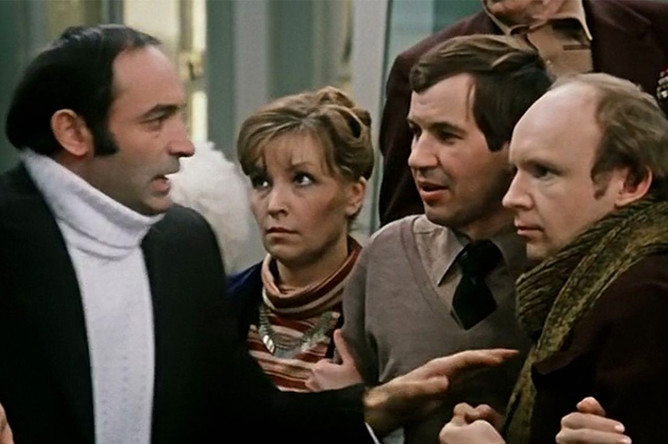 Кадр из фильма «Гараж» (1979)