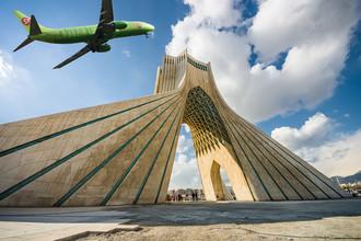 Башня Азади в Тегеране — один из наиболее знаменитых монументов Ирана