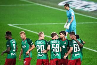 «Локомотив» одолел «Урал» в матче восьмого тура РФПЛ