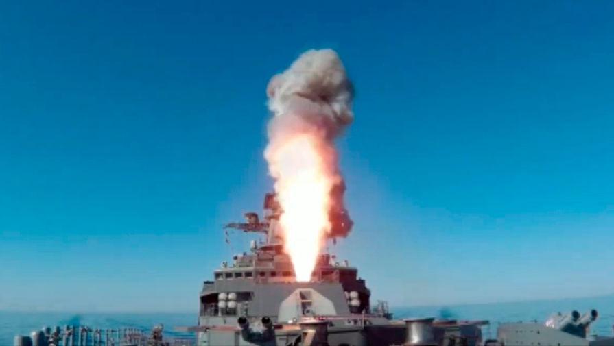 Улучшенный фрегат Маршал Шапошников поразил цель в Японском море
