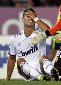 Роналду получил травму