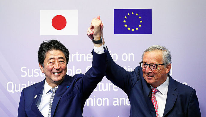 Европа и Япония: новый альянс против США и Китая