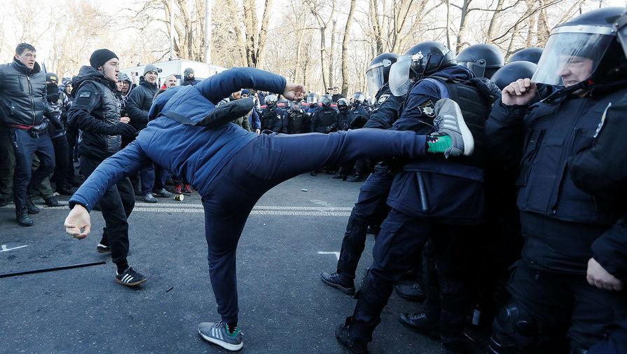 Протесты в Киеве, 17 декабря 2019 года