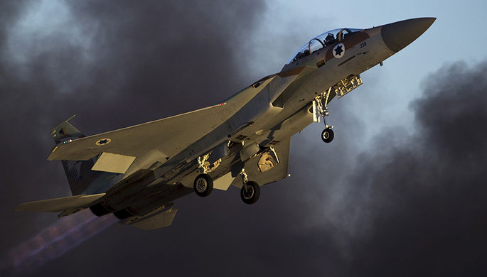 Израильские самолеты улетели из Сирии невредимыми
