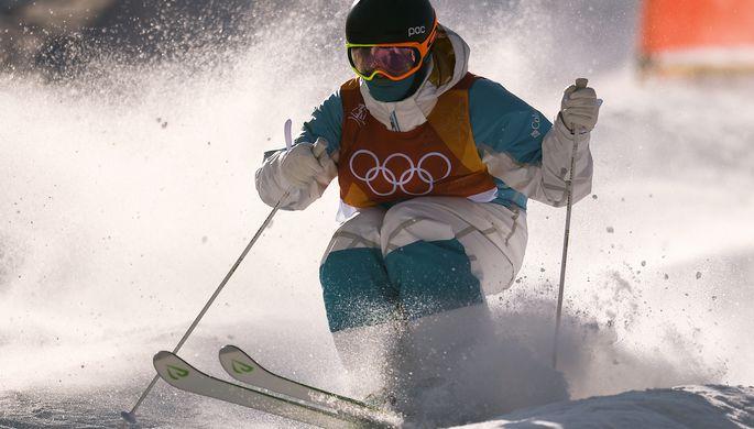 Могул на Олимпиаде в Пхенчхане
