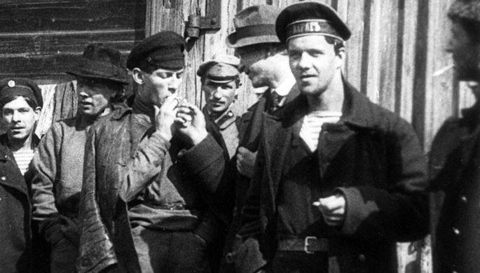 Анархисты, 1917 год