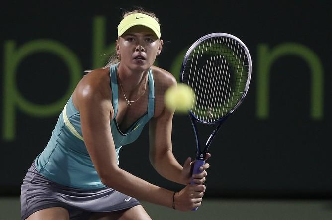 Мария Шарапова пробилась в 1/4 финала турнира в Майами