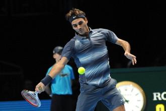 Роджер Федерер стартовал на итоговом турнире с поражения от Джоковича