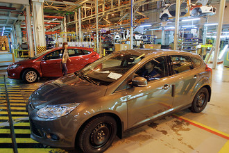 Автомобили, изготовленные на заводе Ford Sollers во Всеволожске