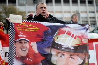 Болельщики продолжают верить в выздоровление Михаэля Шумахера
