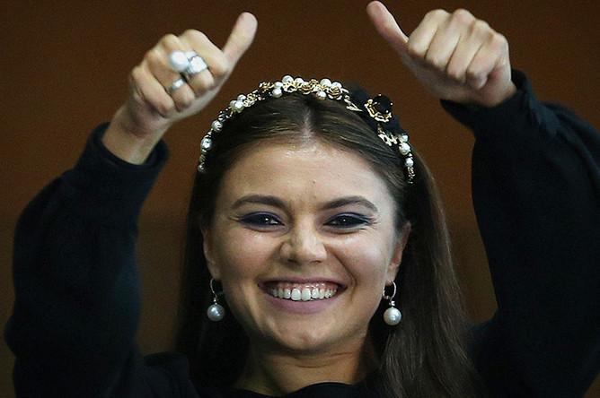 Алина Кабаева на чемпионате мира по художественной гимнастике в Киеве, 2013 год