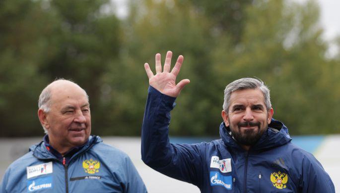 Владимир Барнашов и Рико Гросс