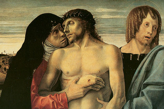 Джованни Беллини. Оплакивание Христа. Около 1464–1470