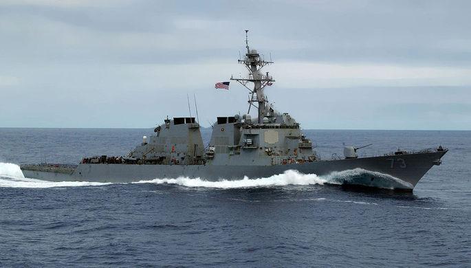 Эсминец ВВС США USS DECATUR