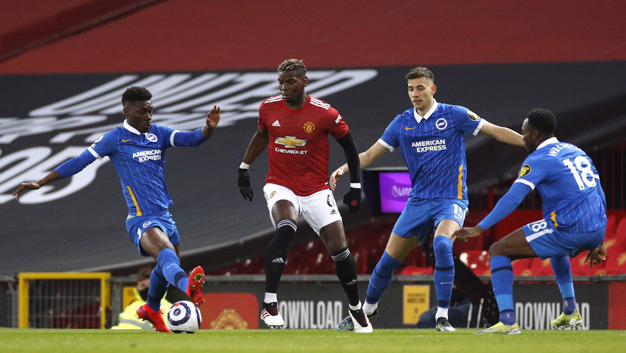 Эпизод матча «Манчестер Юнайтед»- «Брайтон»