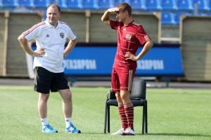 Владимир Быстров не тренировался с остальными игроками