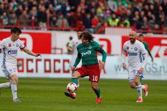 Дмитрий Лоськов в атаке