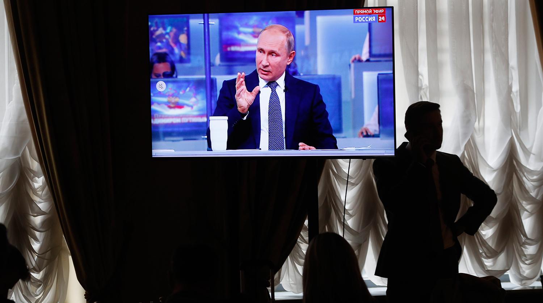 В Кремле рассказали о кибератаках в ходе «прямой линии» Путина