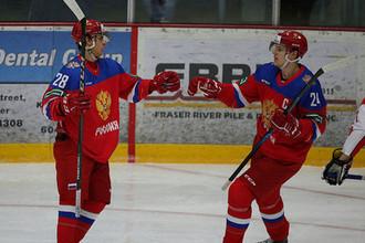 Молодежная сборная обыграла в контрольном матче перед МЧМ-2018 Швейцарию