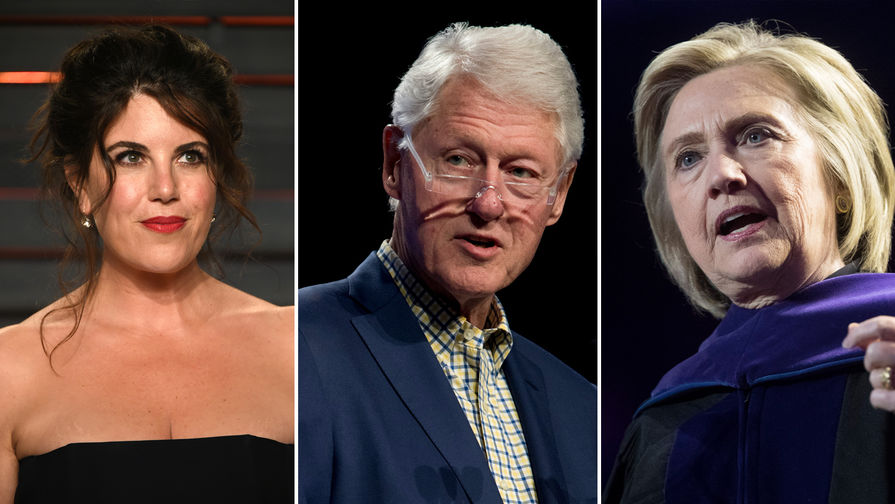 Билл Клинтон объяснил, зачем закрутил роман с Моникой Левински