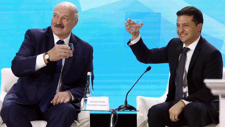 Лукашенко перепутал Украину с Россией во время беседы с Зеленским