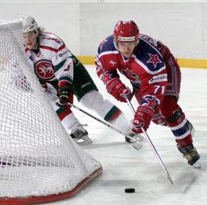 Владимир Жарков в форме ЦСКА