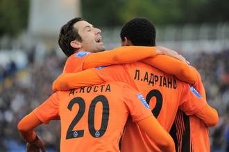 «Шахтер» одержал 13 победу в чемпионате Украины-2012/13