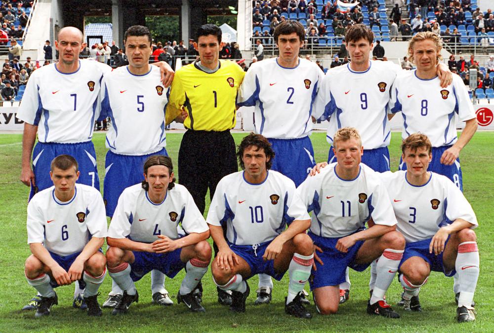 Сборной по футболу 2002