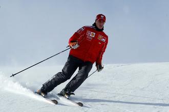 Любовь к лыжам не довела Михаэля Шумахера до добра