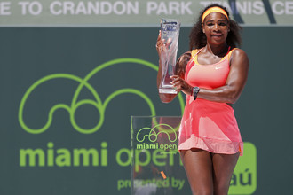 Серена Уильямс выиграла 66-й турнир в карьере