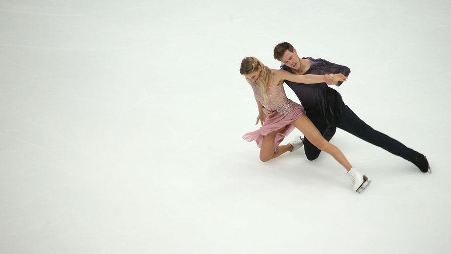 Синицина и Кацалапов идут вторыми после ритм-танца на чемпионате Европы