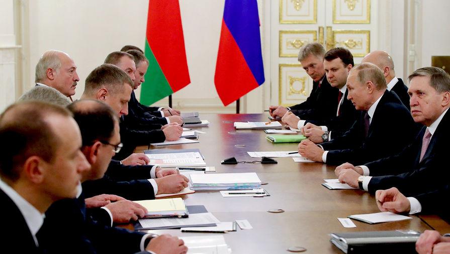 Нефть и интеграция: о чем договорились Путин и Лукашенко
