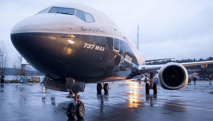 Boeing обновил ПО для авиалайнеров 737 MAX