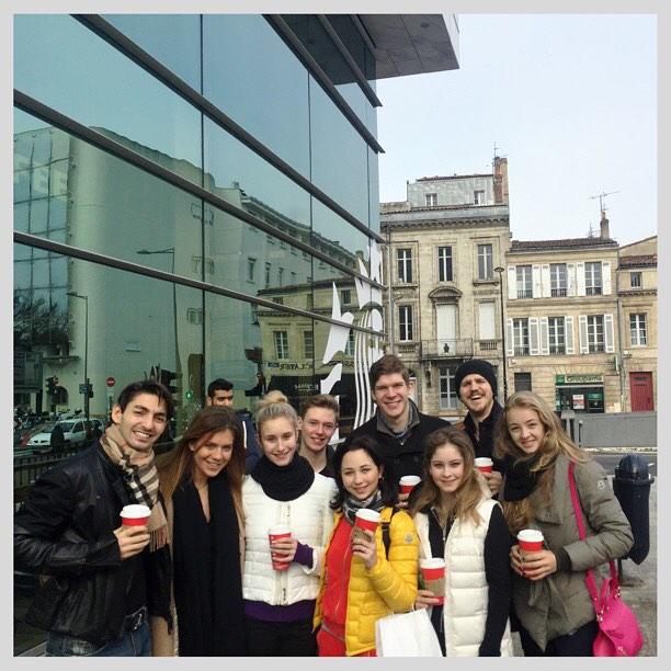Фигуристы в Бордо