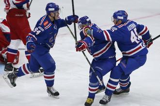 СКА вышел вперед в серии с «Локомотивом»