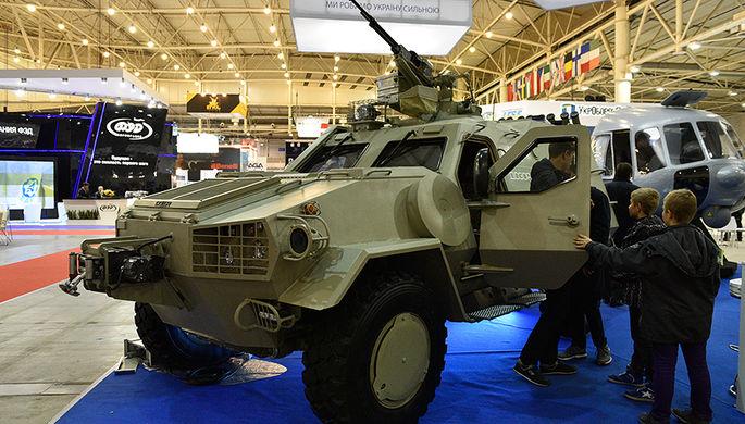 Военный бронеавтомобиль легкого класса с колесной формулой 4х4 «Дозор-Б» на...
