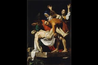 Караваджо. Положение во гроб. Ок. 1602–1603