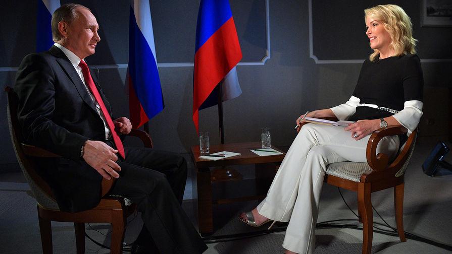 Бравшая интервью у Путина телезвезда NBC требует $50 млн