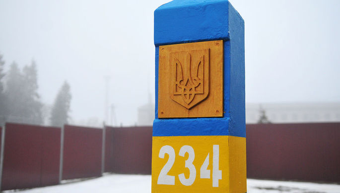 Украина намерена укреплять границу с Россией при хорошей погоде